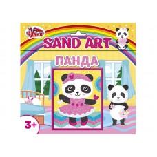 Картинка из песка Панда