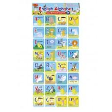Магнитная азбука ENGLISH ALPHABET (нов.)