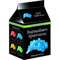 Выращиваем кристаллы (синие)