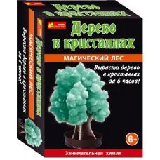 Дерево в кристаллах (зелёное)