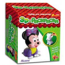 3D-раскраска. Мышка