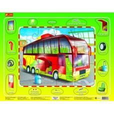 Автобус - Пазлы для малышей